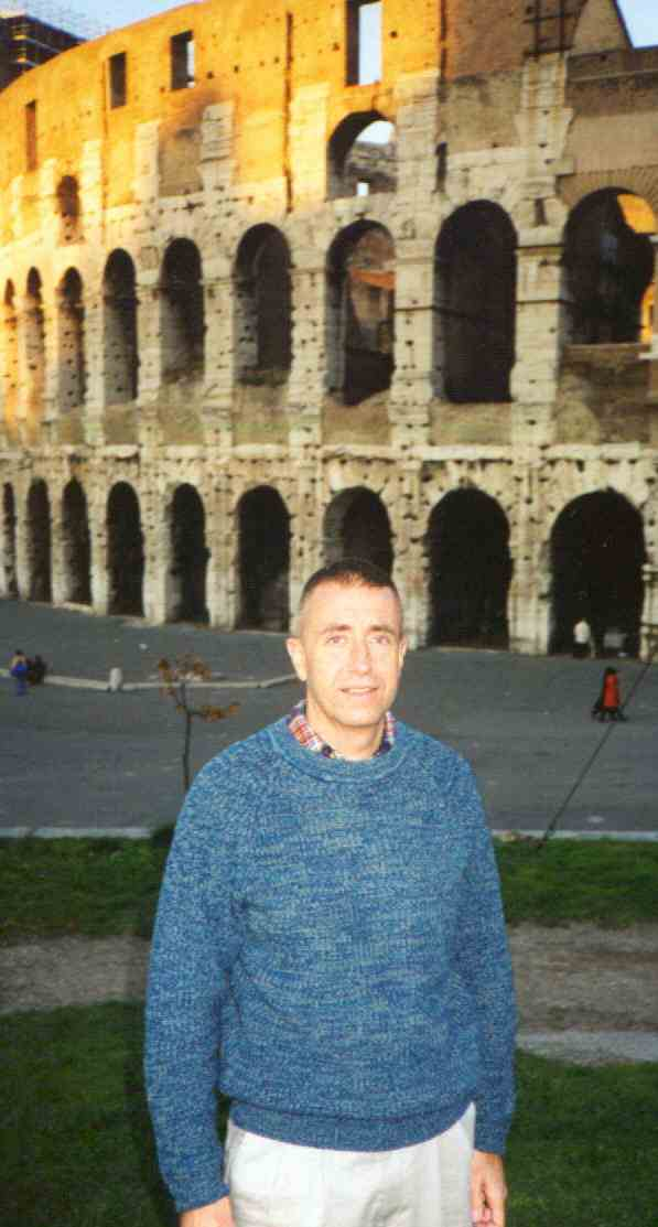 Me at the Colisseum in Rome